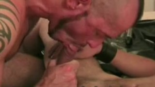 How gay cumshots are made