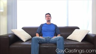 GayCastings Lean cowboy with great bod sucks