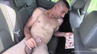Suburban Boy's Brandon Colt strokes big dick