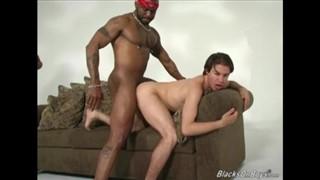 White Guy Slurps Down Thick Load 2