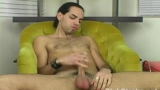 Latino Straight Guy Dax Masturbating