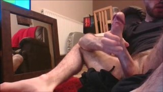 hot twink with big cock shoots huge load