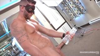 Maskurbate Muscular Masked Hunk Wanking It