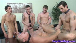 Antony fox gets handjob from Joey Blade