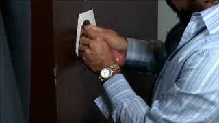 Men Over 30 Public Work Bathroom GloryHole