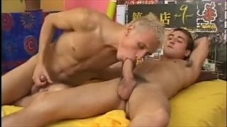 Str8 guy sucked and fucks