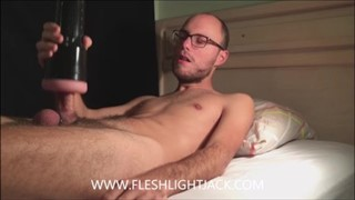 Tonny: Fleshlight Fun At Lunchtime