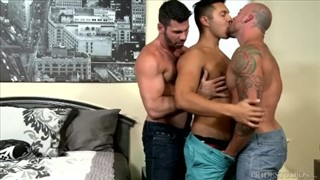 Randy Blue threesome, Danny Sean & Cayden