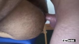 Hairy Arab twink and German muscle daddy