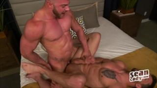 Brad and Dawson fuck outside