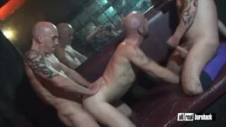 Threesome breeder in sauna
